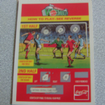 Coca-cola 1993 Football trading card scratch card @sold@